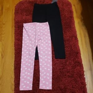 Other - Girl (2) assorted leggings. One new and 1 used.